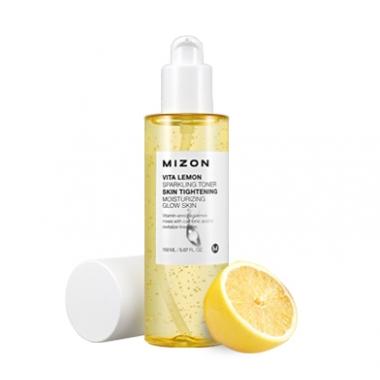 MIZON Vita Lemon Sparkling Toner tester - nahka niisutav toonik