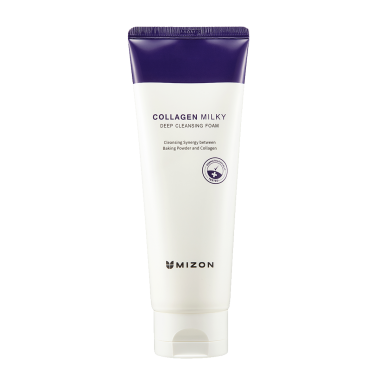 Deep cleansing foam collagen milky product 01.png
