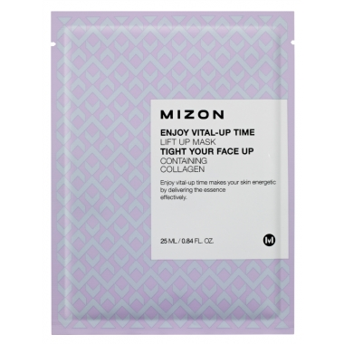 MIZON Enjoy Vital-Up Time [Lift Up Mask] - pinguldav kangast näomask