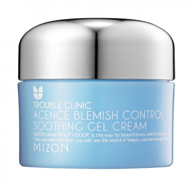 MIZON Acence Blemish Control Soothing Gel Cream - geel-kreem probleemsele nahale