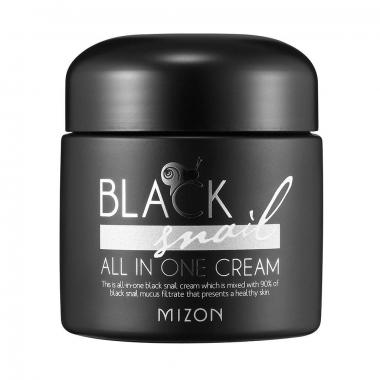 Mizon Black Snail All In One Cream - näokreem 90% musta teo mutsiiniga