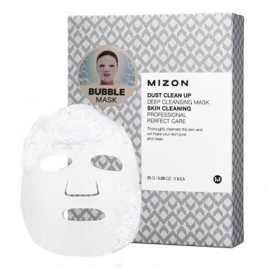 Mizon Dust Clean Up Deep Cleansing Mask - vahutav kangasmask pooride sügavpuhastamiseks