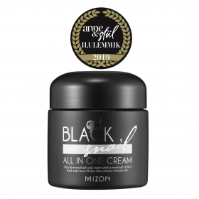 Mizon Black Snail All In One Cream - näokreem 90% musta teo mutsiiniga