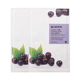MIZON Joyful Time Essence Mask [Acai Berry] - kangasmask acai marjaga