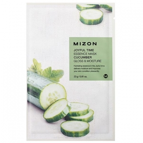 MIZON Joyful Time Essence Mask [Cucumber] - kangasmask kurgiga