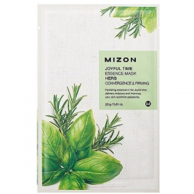 MIZON Joyful Time Essence Mask [Herb] - kangasmask ravimtaimedega