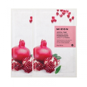 MIZON Joyful Time Essence Mask [Pomegranate] - kangasmask granaatõunaga
