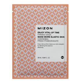 MIZON Enjoy Vital-Up Time [Firming Mask] - pinguldav kangasmask granaatõunaga