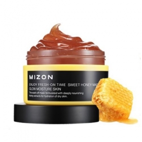 MIZON Enjoy Fresh-On Time [Sweet Honey] - magusa mee näomask