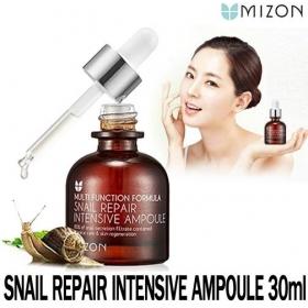 MIZON Snail Repair Intensive Ampoule - kontsentreeritud 80% teolima seerum