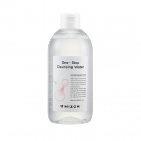 Mizon One Step Cleansing Water - mitsellaarvesi probiootikumidega
