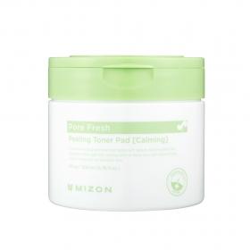 Mizon Pore Fresh Toner Peeling Pad [Calming] - koorivad padjakesed