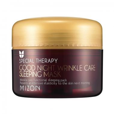 Mizon Good Night Wrinkle Care Sleeping Mask - öine kortsudevastane mask