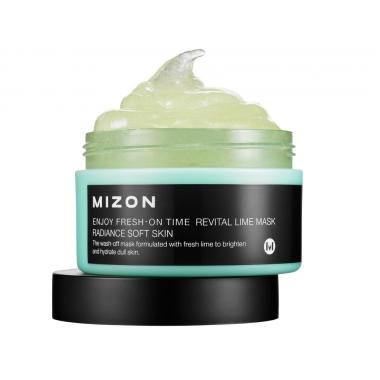 MIZON Enjoy Fresh-On time [Revital Lime] - näomask laimiga