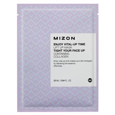 MIZON Enjoy Vital-Up Time [Lift Up Mask] - pinguldav kangast näomask
