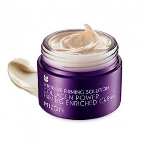MIZON Collagen Power Firming Enriched Cream - pinguldav ja toitev näokreem kollageeniga